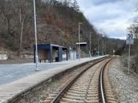 Železniční zastávka Petrov