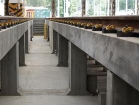 Vozovna Motol - rekonstrukce podpěr kolejí