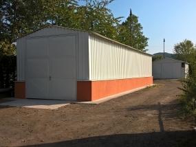Oprava haly v areálu nádraží Beroun
